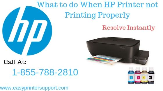 A Quick Guide to Fix HP Printer not PrintingProperly Issue