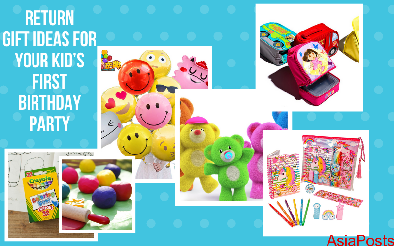 Return Gift Ideas For Your Kid S First Birthday Party Asiaposts